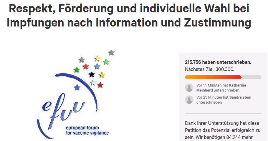 Petition Gegen Impfpflicht